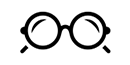 Montura de gafa redonda